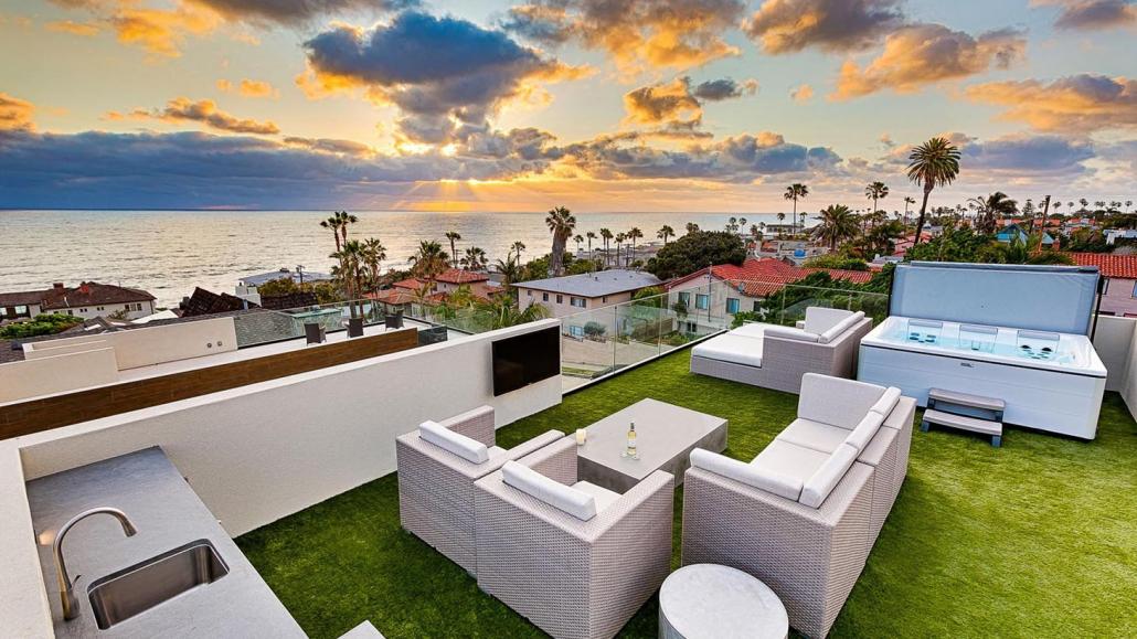 coastal captivation la jolla villa rental