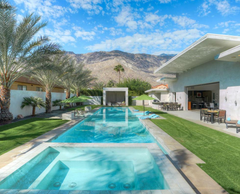 desert sanctuary palm springs villa rental