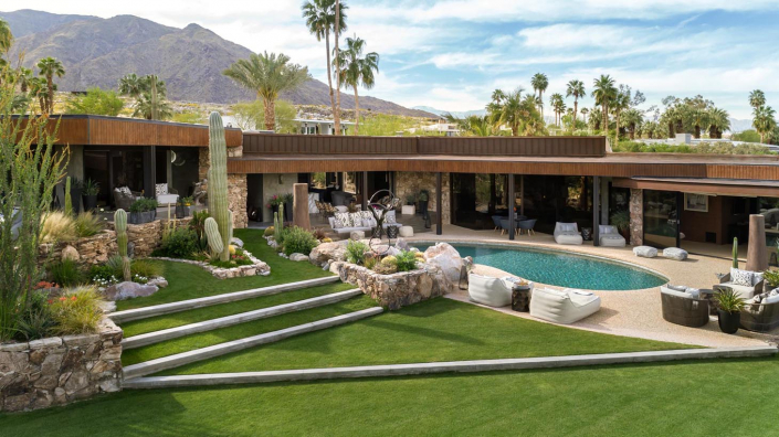 modern cielo palm springs villa rental