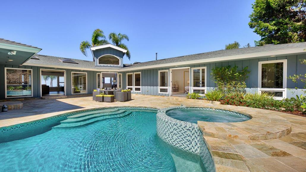 modern hillside la jolla villa rental