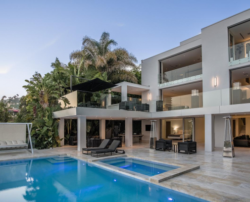 octane luxury hollywood hills villa rental