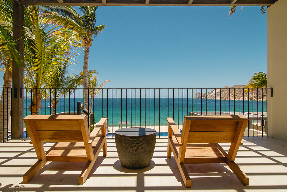 1 homes cabo five bedroom beachfront villa patio view