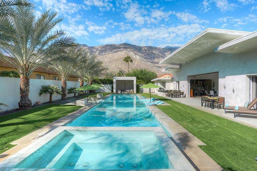 desert sanctuary palm springs villa rentals