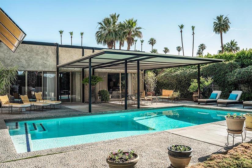 arthur elrod escape palm springs villa rental