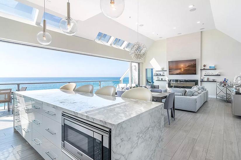 beachfront gem malibu los angeles villa rental