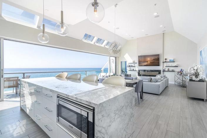 beachfront gem malibu los angeles villa rentals