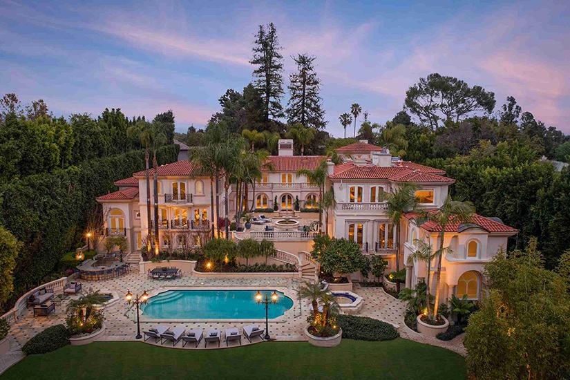 bel air mansion los angeles villa rental