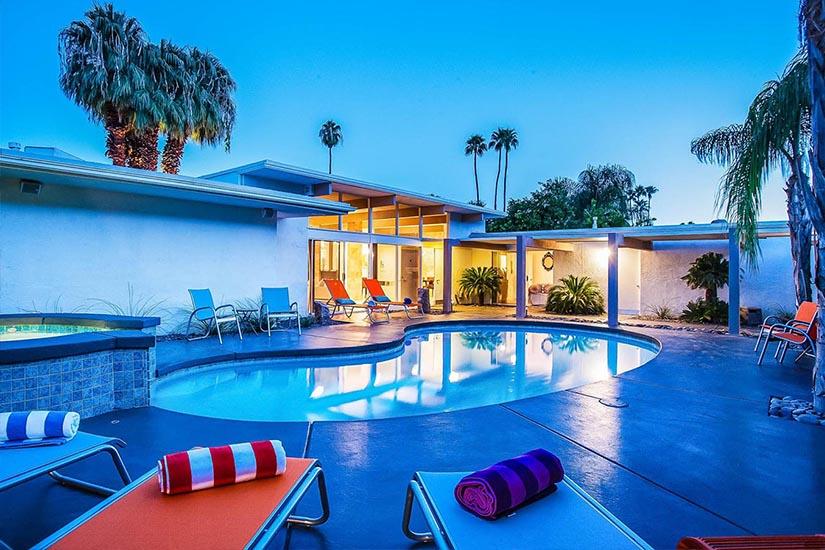 collins hideaway palm springs villa rental