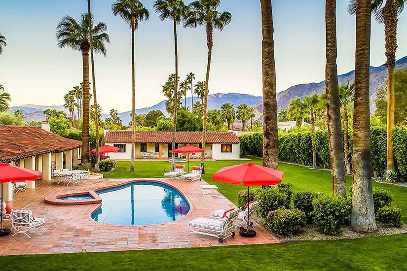 harold lloyd estate palm springs villa