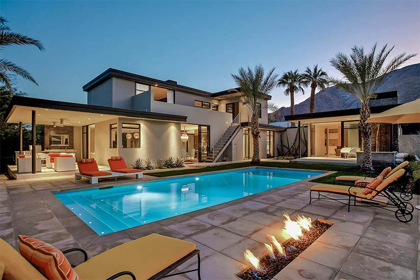 kir royale palm springs villa rental