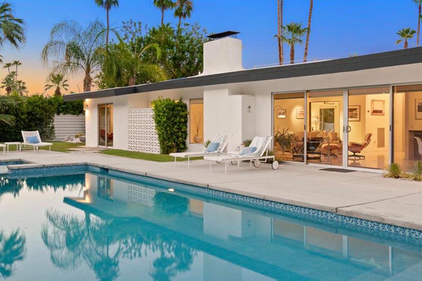 la vie en rose palm springs villa rental