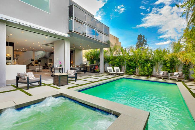 luxe vincente los angeles villa rental