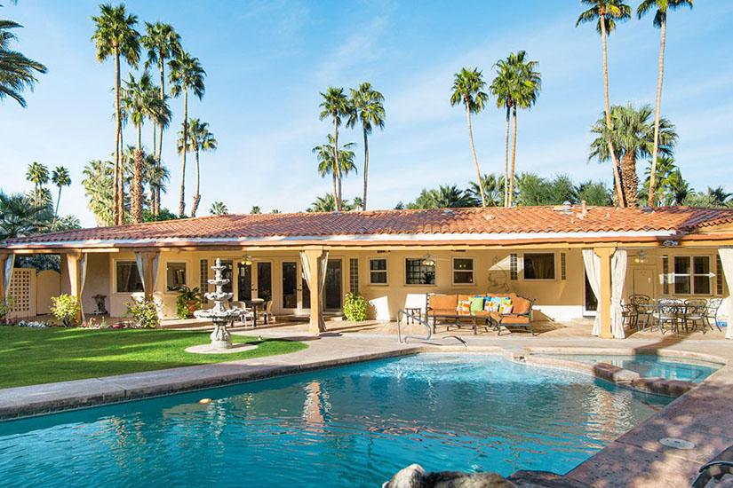 maison du soleil palm springs villa rental