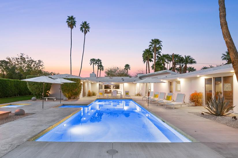 mid-century escape palm springs villa rental