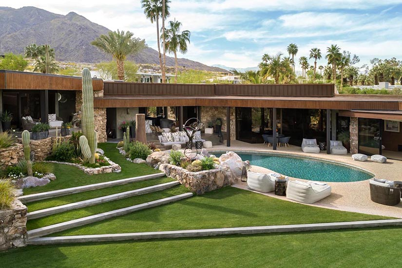 modern cielo palm springs villa rental