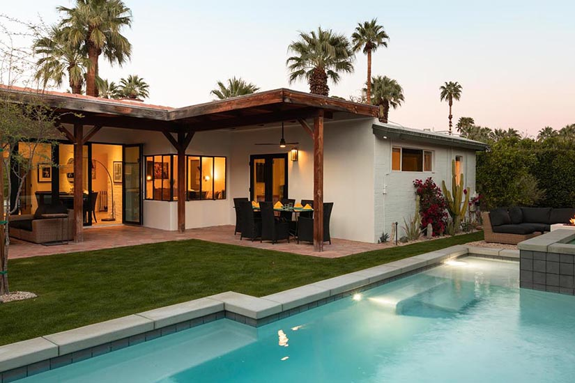 movie colony palm springs villa rental