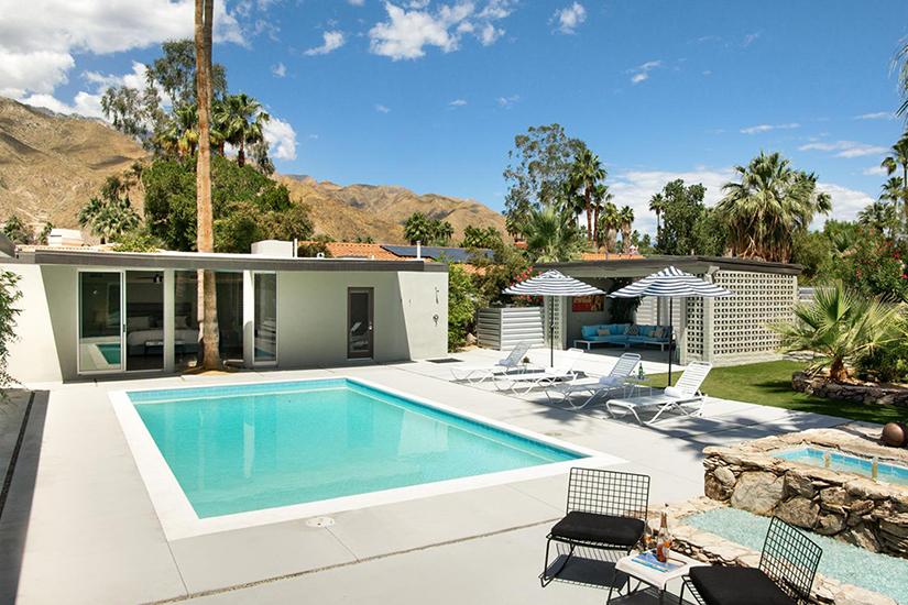 modern palms palm springs villa rental