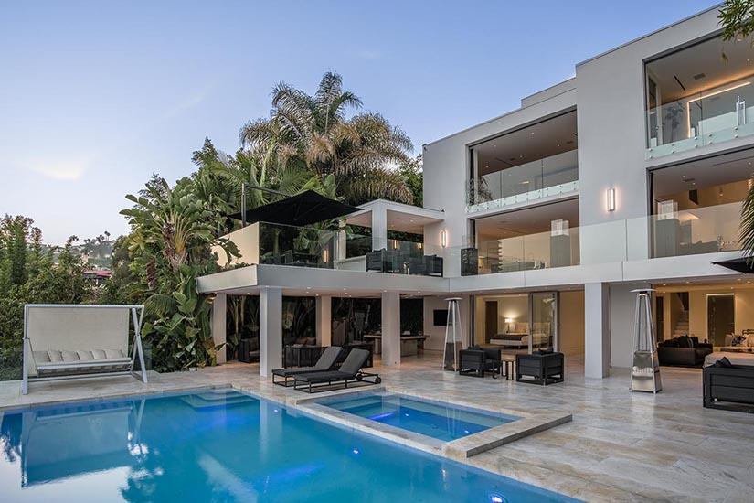 octane luxury hollywood hills los angeles villa rentals