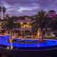 panoramic jetliner los angeles hollywood hills villa rental
