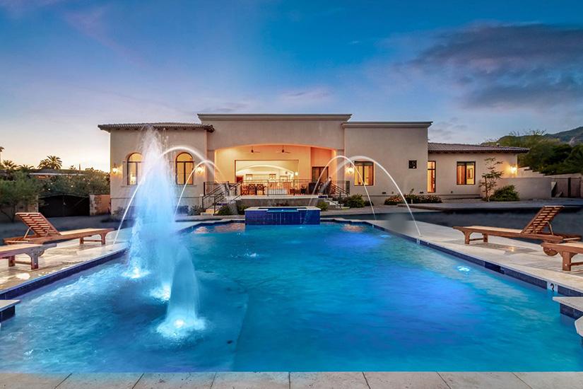 quartz mountain scottsdale paradise valley villa rental