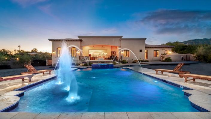 quartz mountain scottsdale villa rental