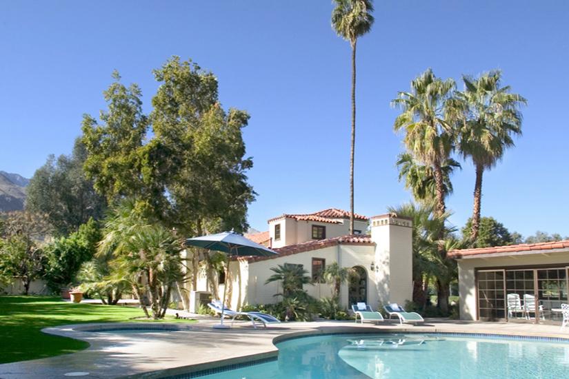 sand acre estate palm springs villa