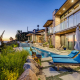 santa barbara beach estate villa rental