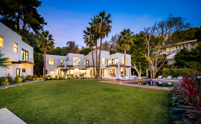 sunset bowery hollywood hills villa rental