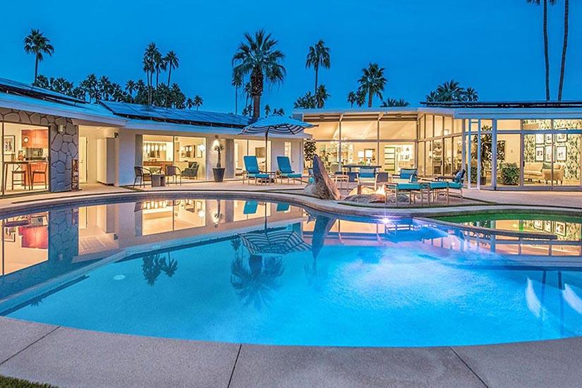 the view palm springs villa rental