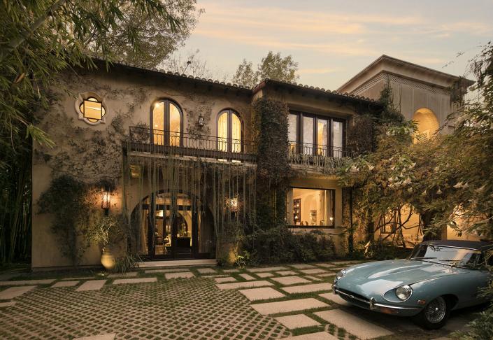 villa alpine beverly hills los angeles villa rental