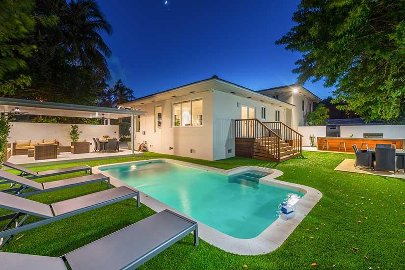 villa serenity miami shores villa rental