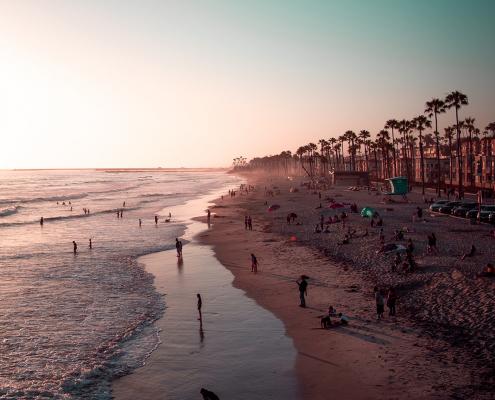 southern california beach summer road trip