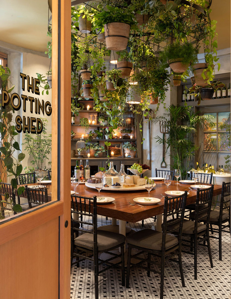 Private Dining Room in The Fairmont Hotel in Santa Monica, CA
