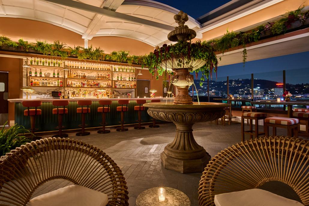 bar lis thompson hollywood rooftop bar